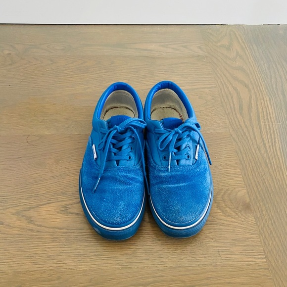 Vans Other - Vans x Undefeated Youth Blue Terrycloth Sneaker